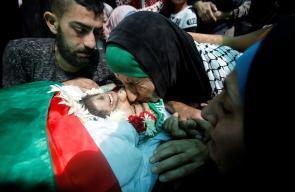 تشييع جثمان الشهيد عبدالله طقاطقة في بيت لحم