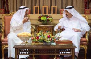 العاهل السعودي وأمير الكويت يبحثان الأحداث بالمنطقة