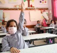 مدرسة في غزة -ارشيف