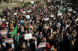 في يوم القدس العالمي.. مسيرات حاشدة في المدن الإيرانية دعما لغزة