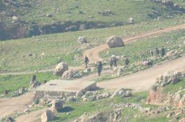 الاحتلال يخلي خربة طانا شرق نابلس