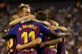 """بهدفين في ثلاث دقائق.. برشلونة يعبر سوسيداد في """"الليغا"""""""