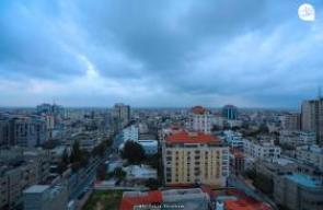 بدء تأثير المنخفض الجوي العميق على قطاع غزة