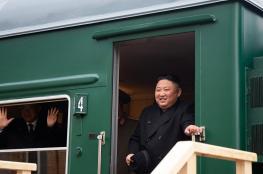 الزعيم الكوري الشمالي يصل إلى روسيا على قطاره الخاص