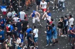 أعمال نهب وسرقة أثناء الاحتفالات بفوز فرنسا بكأس العالم