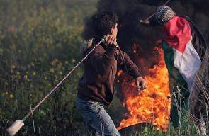 مواجهات بين الشبان الفلسطينيين وقوات الاحتلال بالضفة وغزة
