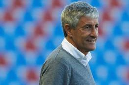 سيتين مدربًا لبرشلونة حتى 2022