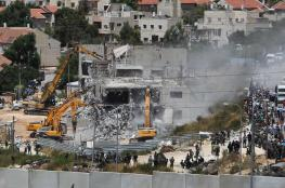 Israel demolished 538 Palestinian buildings in 2018