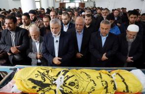 تشييع جثمان الشهيد الصياد أبو ريالة في غزة