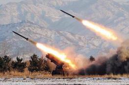 إطلاق صواريخ من لبنان باتجاه شمال فلسطين المحتلة