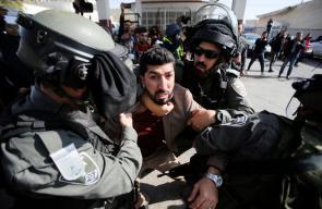 بيت لحم: إصابات واعتقالات خلال قمع الاحتلال وقفة تضامنية مع الصحفي معاذ عمارنة