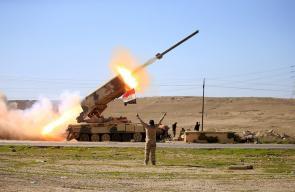 مشاهد من المعارك الجارية بين القوات العراقية وتنظيم الدولة في الموصل