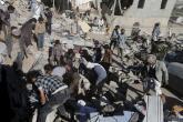 عشرات القتلى والجرحى في قصف التحالف العربي لحفل زفاف باليمن