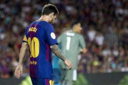 ميسي يوجه رسالة لتحفيز لاعبي برشلونة بعد الخسارة الثقيلة