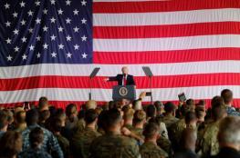 """ترامب: ننسق مع الدول العربية لمكافحة """"الإرهاب"""""""