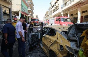 11 قتيلا و35 جريحا بانفجار سيارة مفخخة وسط بغداد