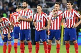 أتلتيكو مدريد يكشف عن اسمي لاعبيه المصابين بفيروس كورونا