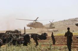 """سلاح الجو """"الإسرائيلي"""" ينهي تدريبات تحاكي مواجهة مع حــزب الله"""