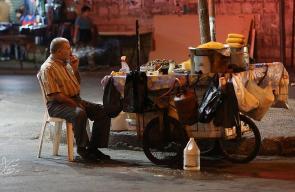 الأجواء الرمضانية في مدينة نابلس مساءاً