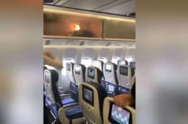 """""""عصائر البرتقال والخوخ"""" تُنقذ طائرة من الحريق"""