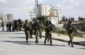 الاحتلال يقتحم مدينة رام الله وسط مواجهات مع الشبان