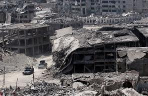 صور جوية تظهر الدمار في مدينة الموصل
