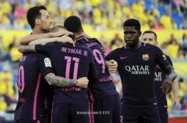 برشلونة وريال مدريد يكشران عن أنيابهما في الليغا