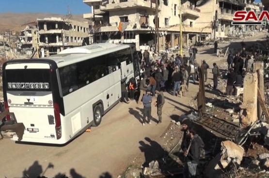 اتفاق بين النظام والمعارضة على إجلاء أهالي كفريا والفوعة