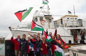 سفن كسر الحصار عن غزة تصل ميناء خيخون الإسباني