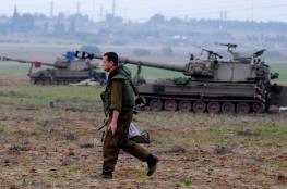 تعزيزات إسرائيلية على حدود غزة خشية من استهداف الجدار