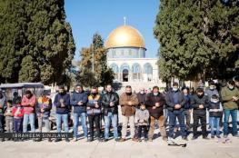 الاحتلال يمنع المصلين من الوصول للأقصى.. وخطيب الجمعة يدعو للرباط فيه