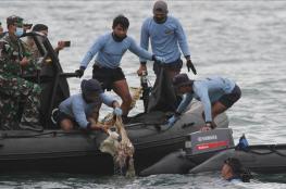 إندونيسيا.. العثور على بقايا بشرية من الطائرة المنكوبة