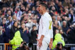 كاسيميرو يقود ريال مدريد لتحقيق فوز صعب أمام إشبيلية