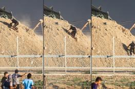متظاهر فلسطيني يروي كيف اقتحم ثكنة عسكرية لقناصة الاحتلال على حدود غزة