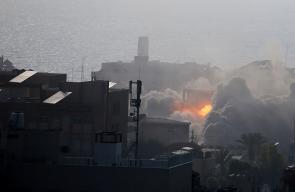 سلسلة غارات اسرائيلية على قطاع غزة