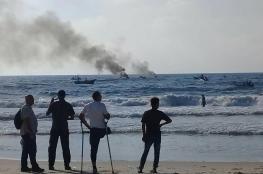Israel assault Palestinian fishing boats rally off northern Gaza