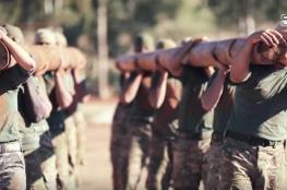 """""""تحرير الشام"""" تستعرض قوات النخبة التابعة لها"""