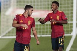 نجم برشلونة يحقق رقما قياسيا مع منتخب إسبانيا