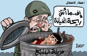 كاريكاتير أمية جحا   عملاء الاحتلال