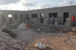 IOF orders demolition of Palestinian school