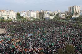 القناة 20 الإسرائيلية: نصف مليون شاركوا في مهرجان انطلاقة حماس الـ 31