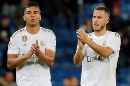 رسميًا.. ريال مدريد يعلن إصابة هازارد وكاسيميرو بكورونا