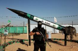الاحتلال : حماس تطلق صاروخ تجريبي نحو البحر المتوسط