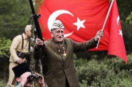 هكذا أحيا الأتراك ذكرى معارك جناق قلعة التي خاضتها الدولة العثمانية