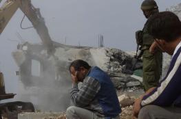 قوات الاحتلال تهدم منزل في نعلين
