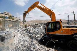 الاحتلال يهدم منشأتين سياحيتين في نابلس
