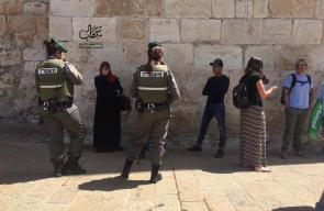 تشديدات امنية للاحتلال في باب الخليل والقدس القديمة