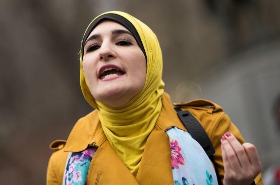 مصادمات بتظاهرات في نيويورك ضد ناشطة فلسطينية