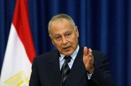 أبو الغيط: داعش مرتبطة بالقضية الفلسطينية والثورات العربية كارثة