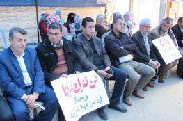 خيمة اعتصام بغزة تضامناً مع الأسرى في سجون الاحتلال